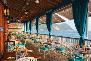 caribbean dominica fort young hotel gallery dining